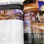 """Pierre et Ouvrages dans la presse spécialisée """"Maison et Jardin"""" de septembre/octobre"""